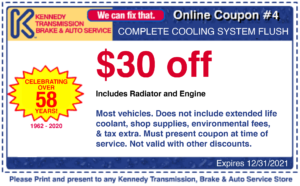 $30 off complete cooling system flush coupon